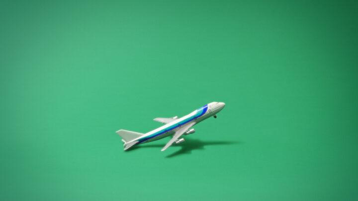 Fotograma maqueta avión