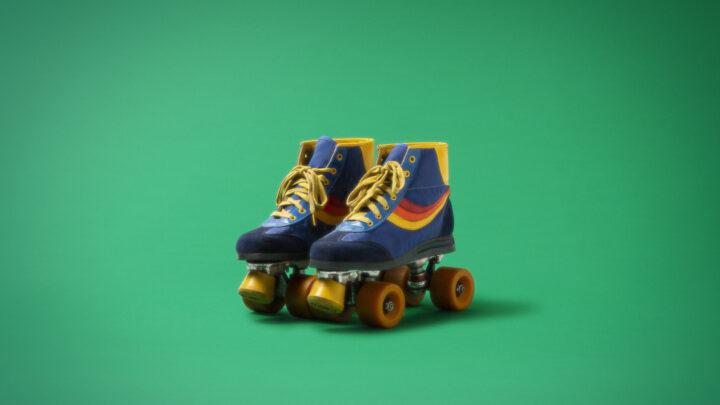 Fotograma patines de quatro ruedas