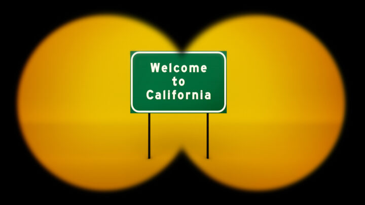 Fotograma cartel Welcome to California