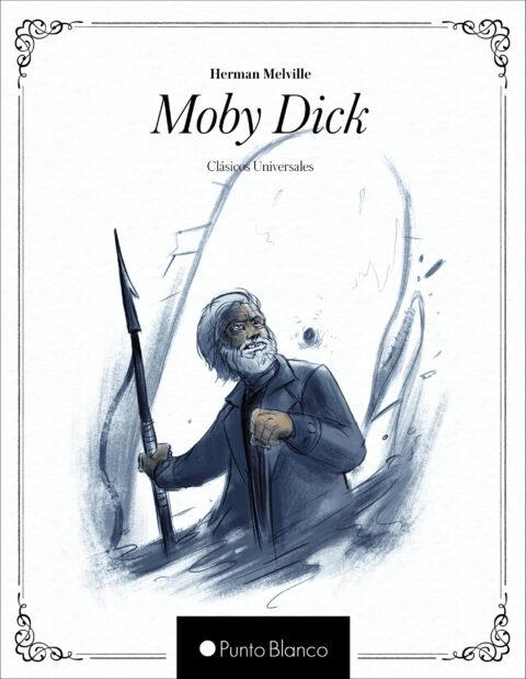 Portada libro Moby Dick