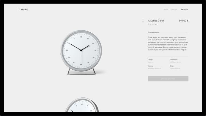 Diseño página producto