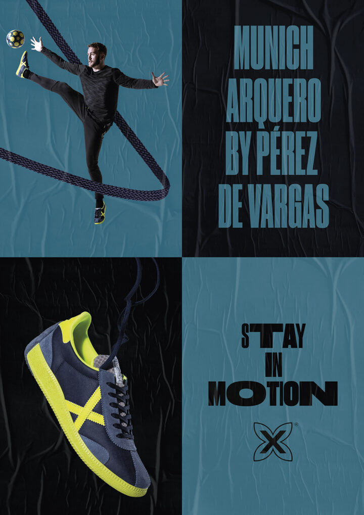 Gráfica Stay in Motion con Perez Vargas