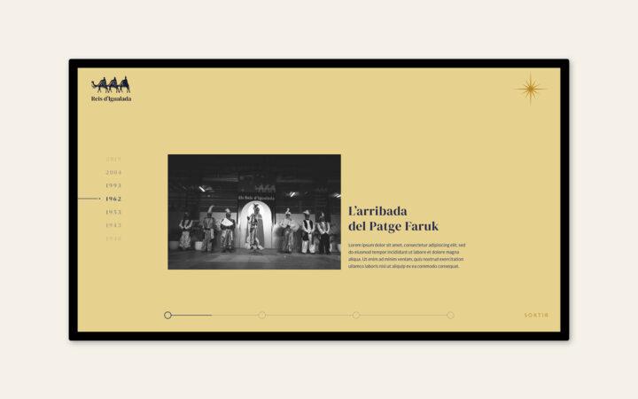 Diseño timeline