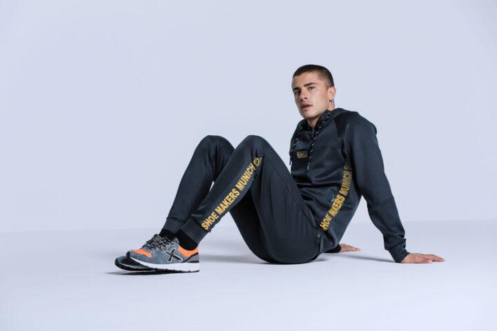 Fotografía ropa deportiva con modelo